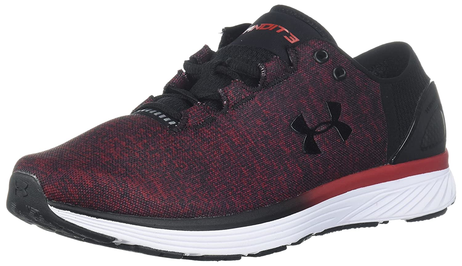 Under Armour Women's Charged Bandit 3 Running Shoe B0714DFYQW 11.5 M US|Spice Red (603)/Black