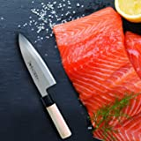 TUO Cutlery High Carbon Stainless Steel Deba Fish