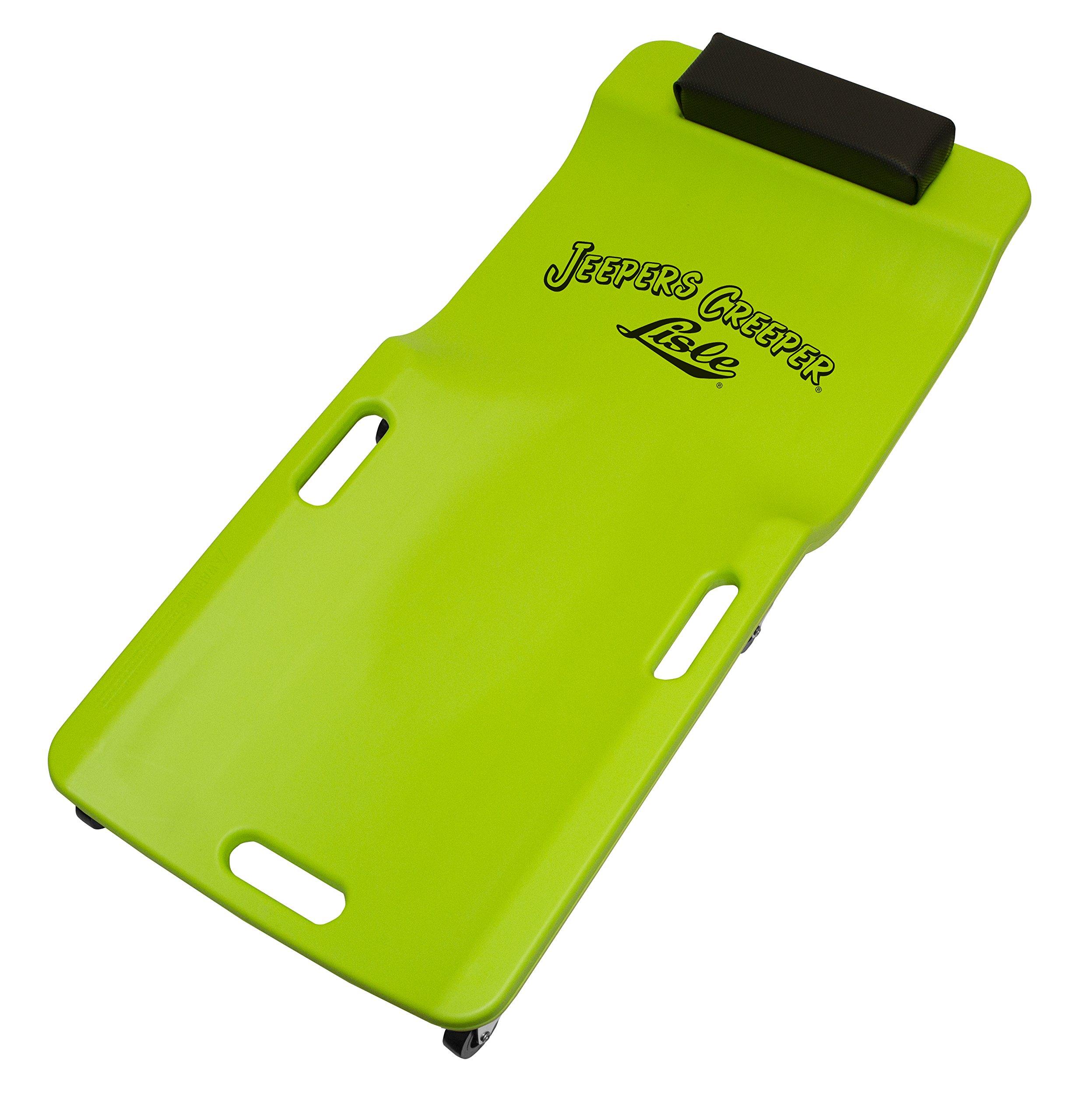 Lisle 99102 Green Neon Low Profile Plastic Creeper by Lisle