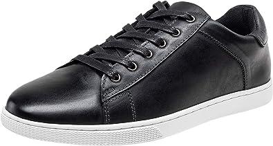 JOUSEN Men's Sneakers Leather Casual