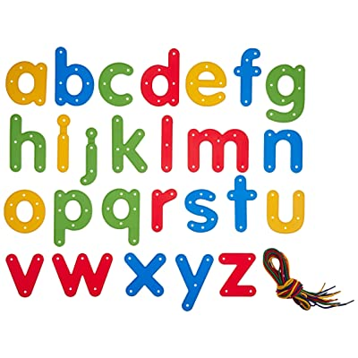 Center Enterprise CE6905 READY2LEARN Lowercase Lacing Alphabets (Pack of 26): Toys & Games