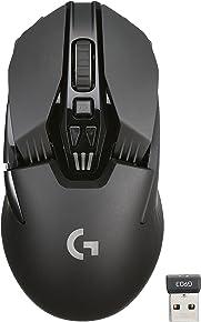 ワイヤレス ゲーミングマウス ロジクール G903 ワイヤレス充電対応 LIGHTSPEED 軽量構造 左右対称