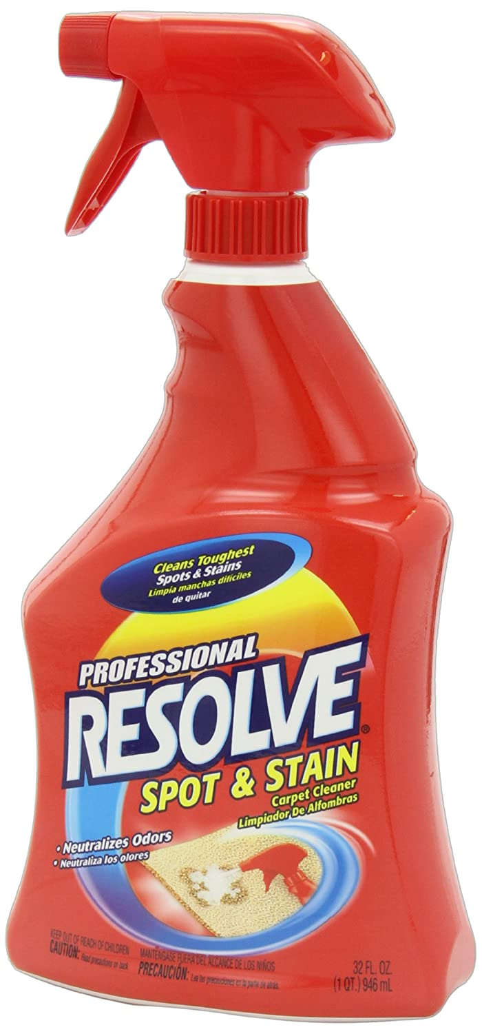 amazoncom resolve strength spot and stain carpet cleaner 32 oz health u0026 personal care