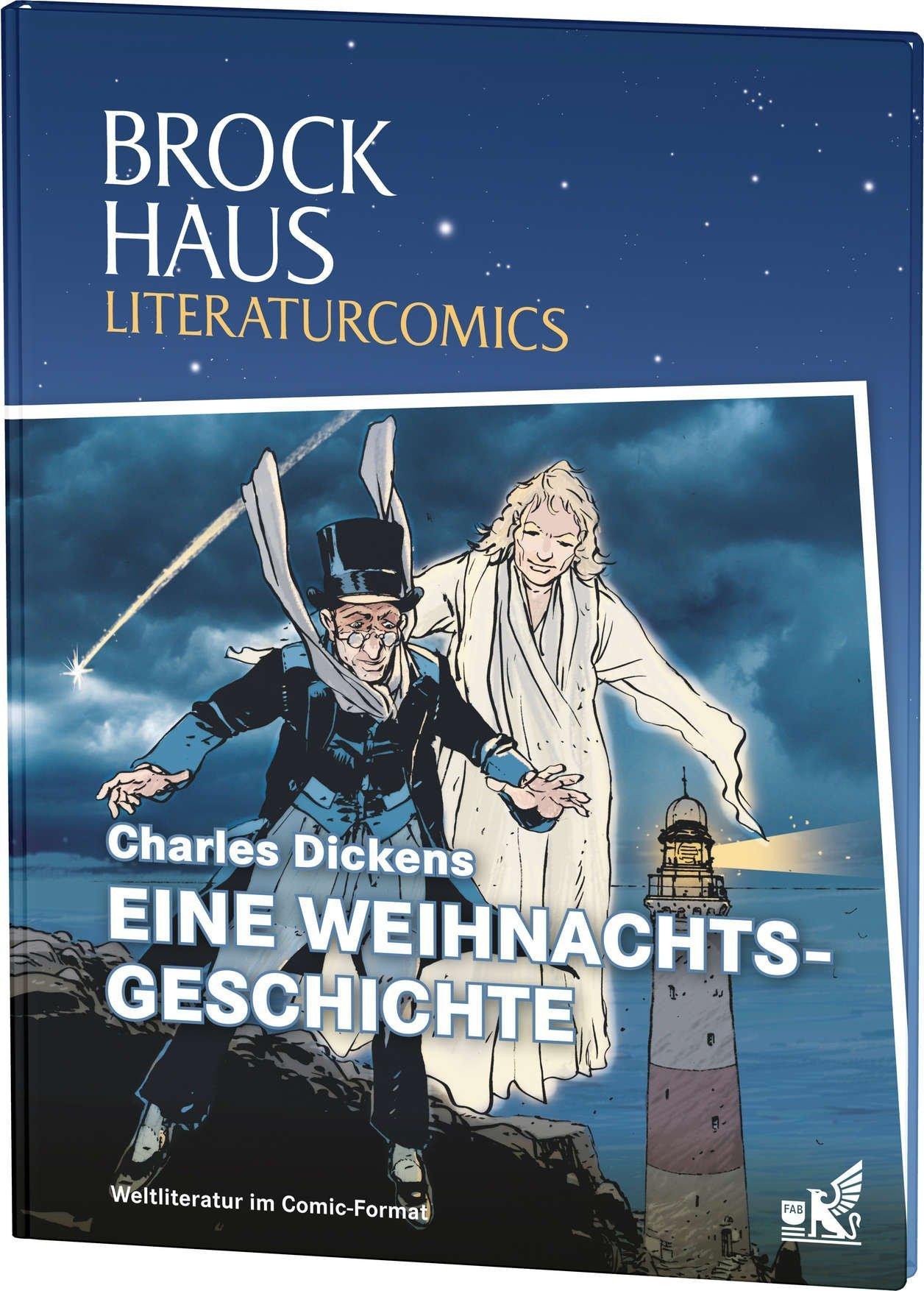 Brockhaus Literaturcomics Eine Weihnachtsgeschichte: Weltliteratur im Comic-Format von Charles Dickens (12. September 2013) Gebundene Ausgabe