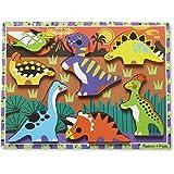 Melissa & Doug Dinosaur Wooden Chunky Puzzle (7 pcs)