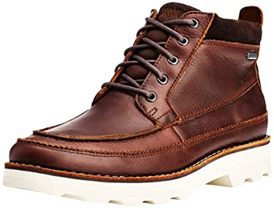 dca90ad3122a18 Clarks Herren Korik Rise GTX Kurzschaft Stiefel  Amazon.de  Schuhe ...