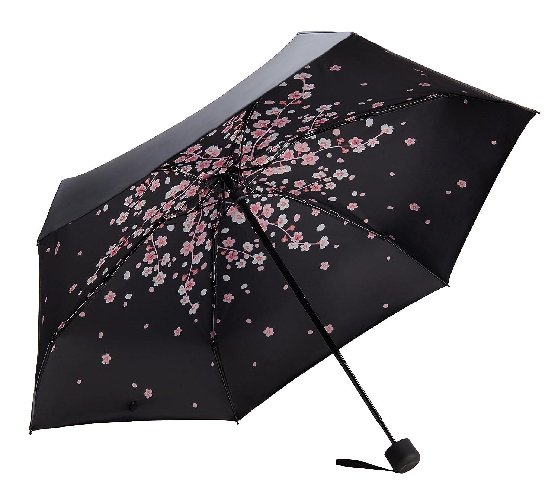 Fidus Mini コンパクト 太陽 雨 旅行用 雨傘 軽量 可搬 アウトドア ゴルフ 95%UV保護 B07B4T3Q95 C1.2-Peach Pink C1.2-Peach Pink
