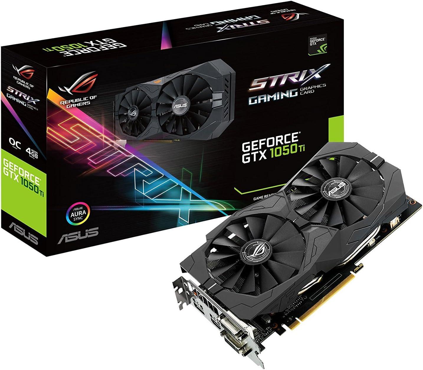 Asus Strix Gtx1050ti O4g Gaming Grafikkarte Computer Zubehör