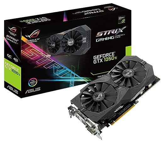 29 opinioni per Asus GeForce STRIX-GTX1050TI-O4G-GAMING Scheda Grafica da 4 GB, DDR5
