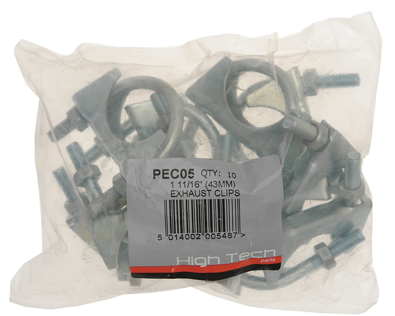 1 11//16 Zoll Pearl PEC05 Auspuffschelle 35/mm 10 St/ück