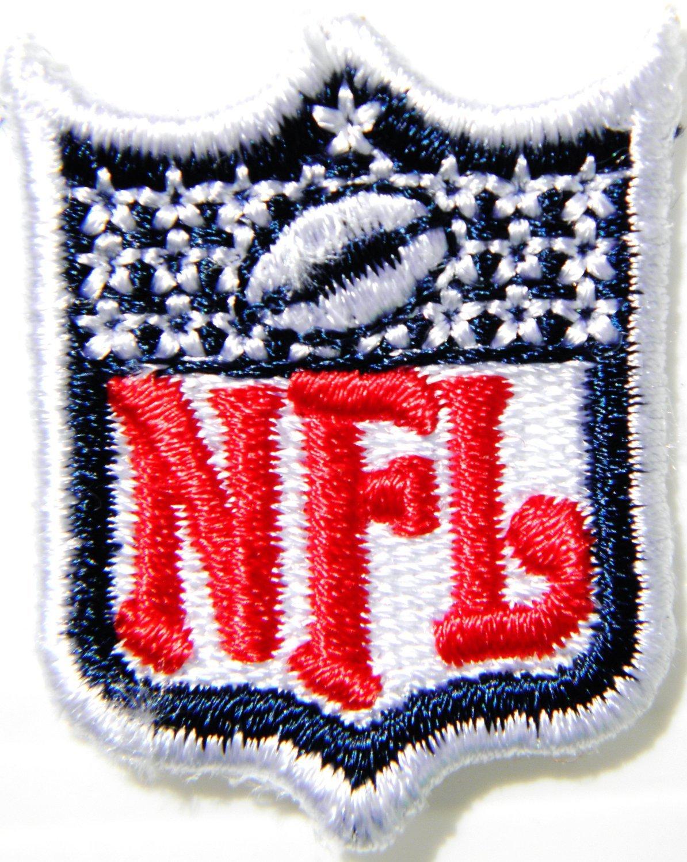 2,92 cm Mini escudo NFL Football Logo Polo chaqueta coser parche ...