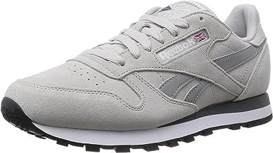 Especialmente masculino Instantáneamente  ReebokClassic Leather Suede - Zapatillas de Running Hombre, Color Beige,  Talla 41: Amazon.es: Zapatos y complementos