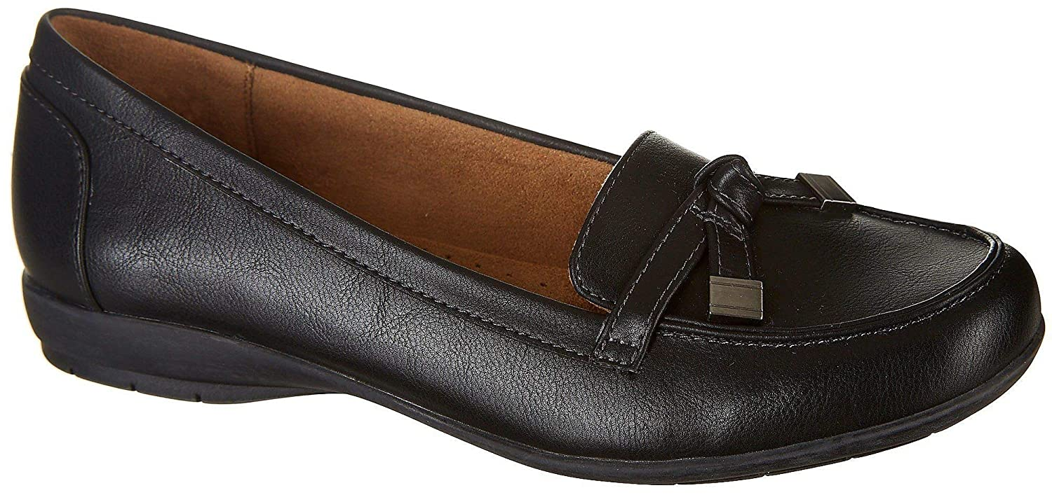 a68db0e7a1a Amazon.com  Natural Soul By Naturalizer Womens Gracee Shoes 6 Black   Clothing