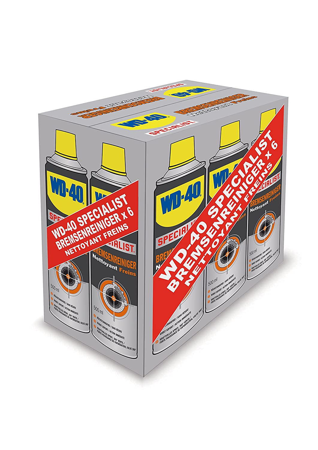 WD 40  Specialist Brake Cleaner 500  ml, 49976 WD-40