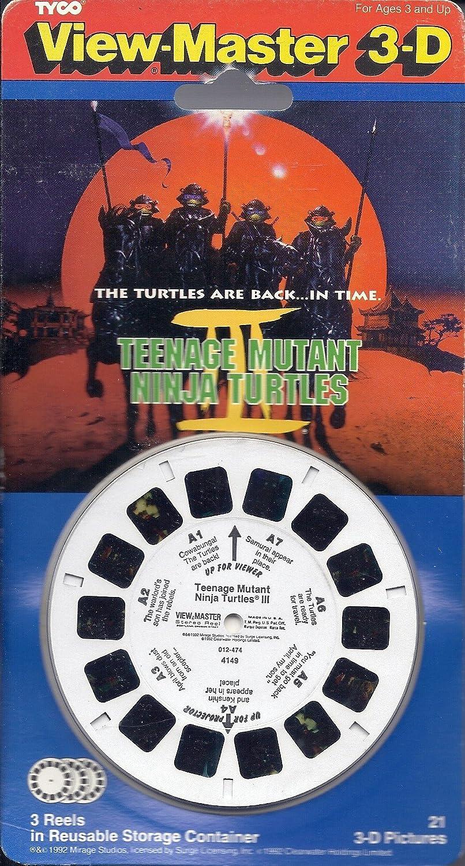 View-Master Teenage Mutant Ninja Turtles 3 - 3D 3 Reel Set