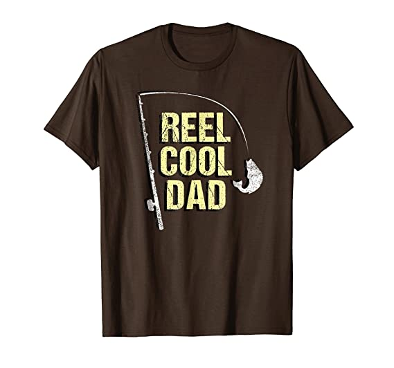 Amazoncom Cool Fishing Dad Shirt Funny Fathers Day Gift For
