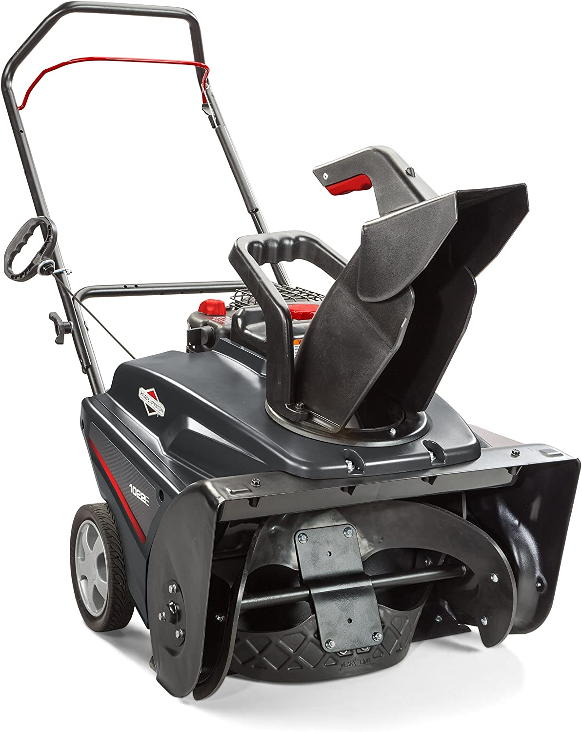 Briggs Stratton 1696737 Single Stage Snow Thrower with 208cc Engine, 22
