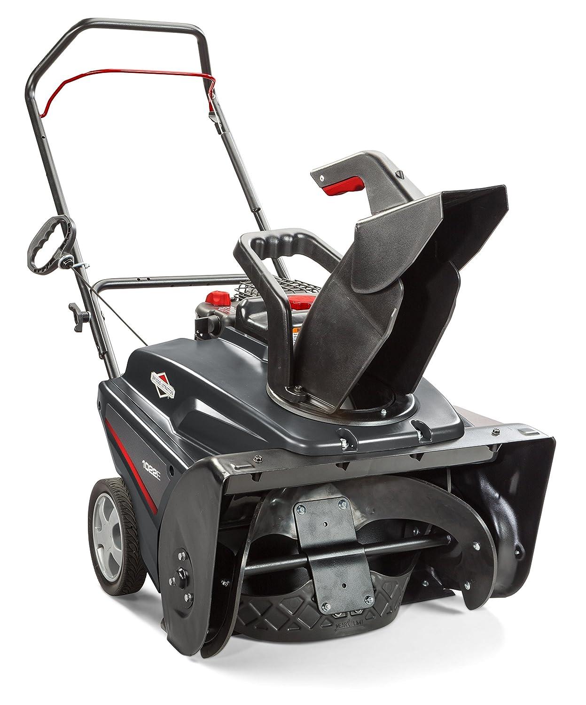"Amazon.com : Briggs & Stratton 1696737 Single Stage Snow Thrower with 208cc  Engine, 22"" : Garden & Outdoor"