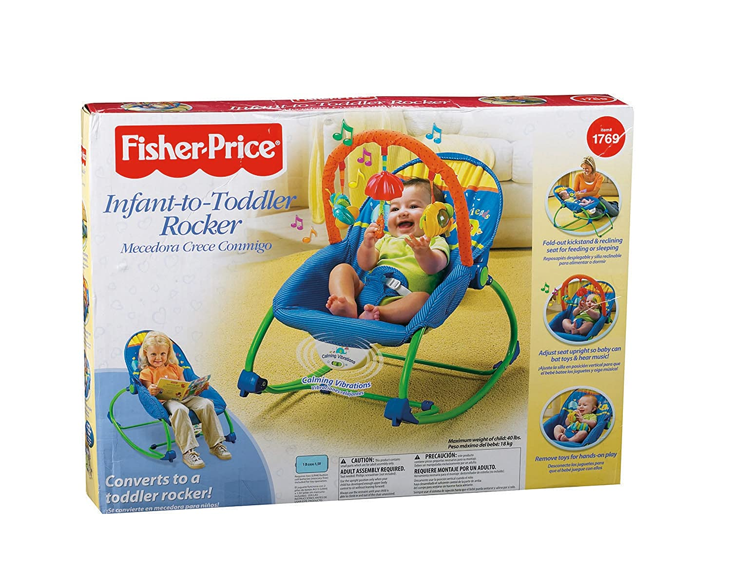 Amazon.com Fisher-Price Infant-To-Toddler Rocker Blue/Green (Discontinued by Manufacturer) Baby  sc 1 st  Amazon.com & Amazon.com: Fisher-Price Infant-To-Toddler Rocker Blue/Green ... islam-shia.org