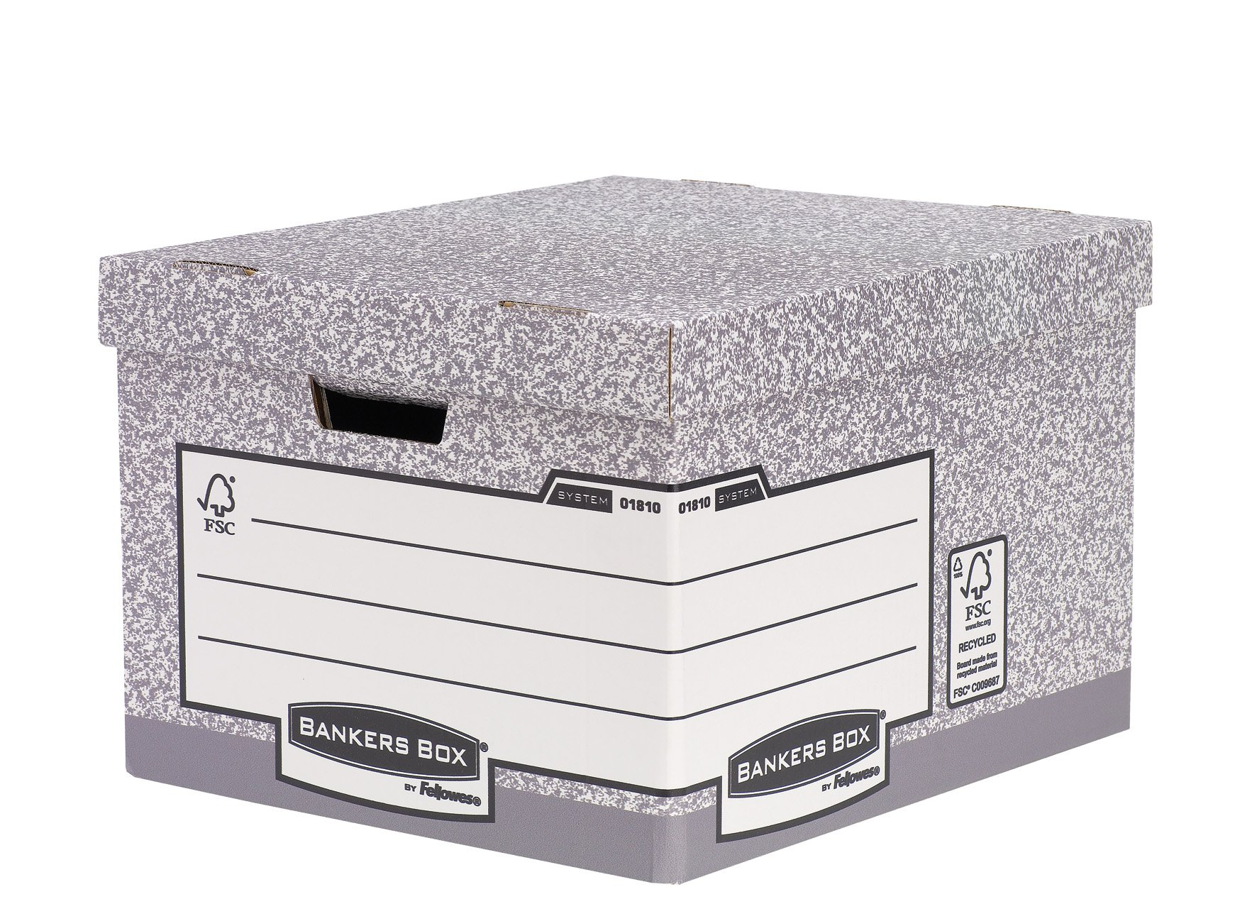 Fellowes R-Kive System Standard Storage Box - Parent (Pack of 10) Large