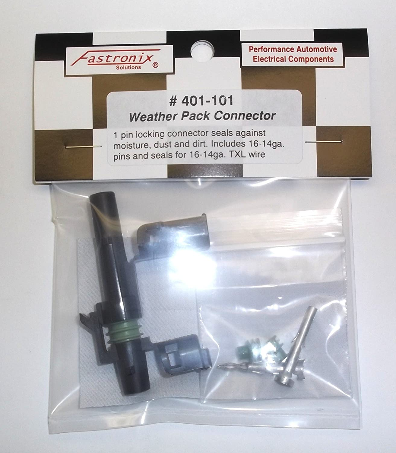 4-Pin Fastronix Weather Pack Connector Kit Fastronix Solutions 4350421961