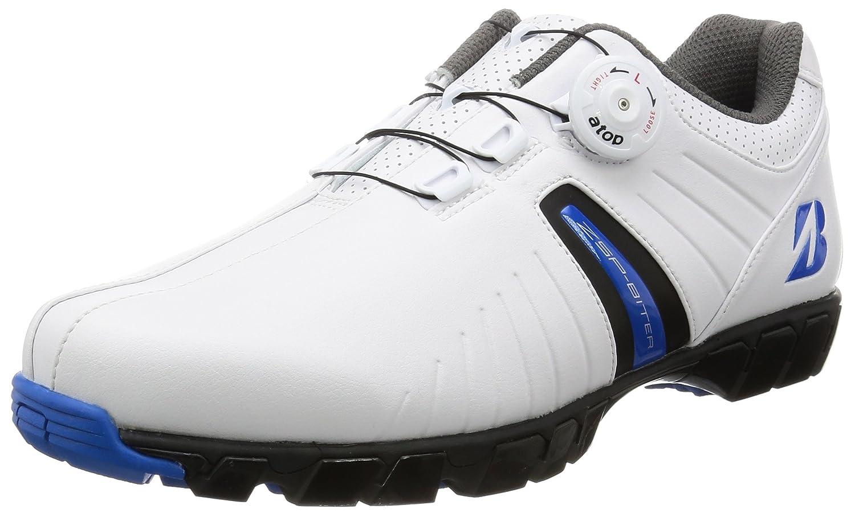 [ブリヂストンゴルフ] ゴルフシューズ、スパイクレス、ダイヤル式 SHG750BK45 B01FM236IS 28.0 cm 3E ホワイト/ブルー