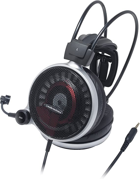 Audio Technica Ath Adg1 High Fidelity Open Air Gaming Headset Musikinstrumente