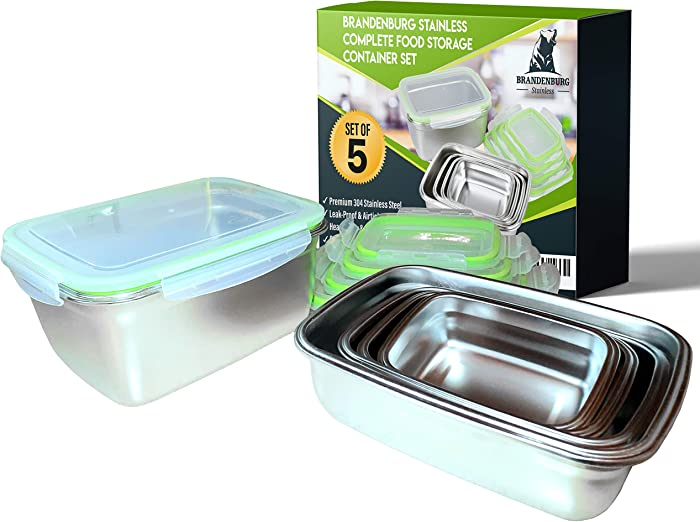 Top 9 Staunless Steel Food Storage