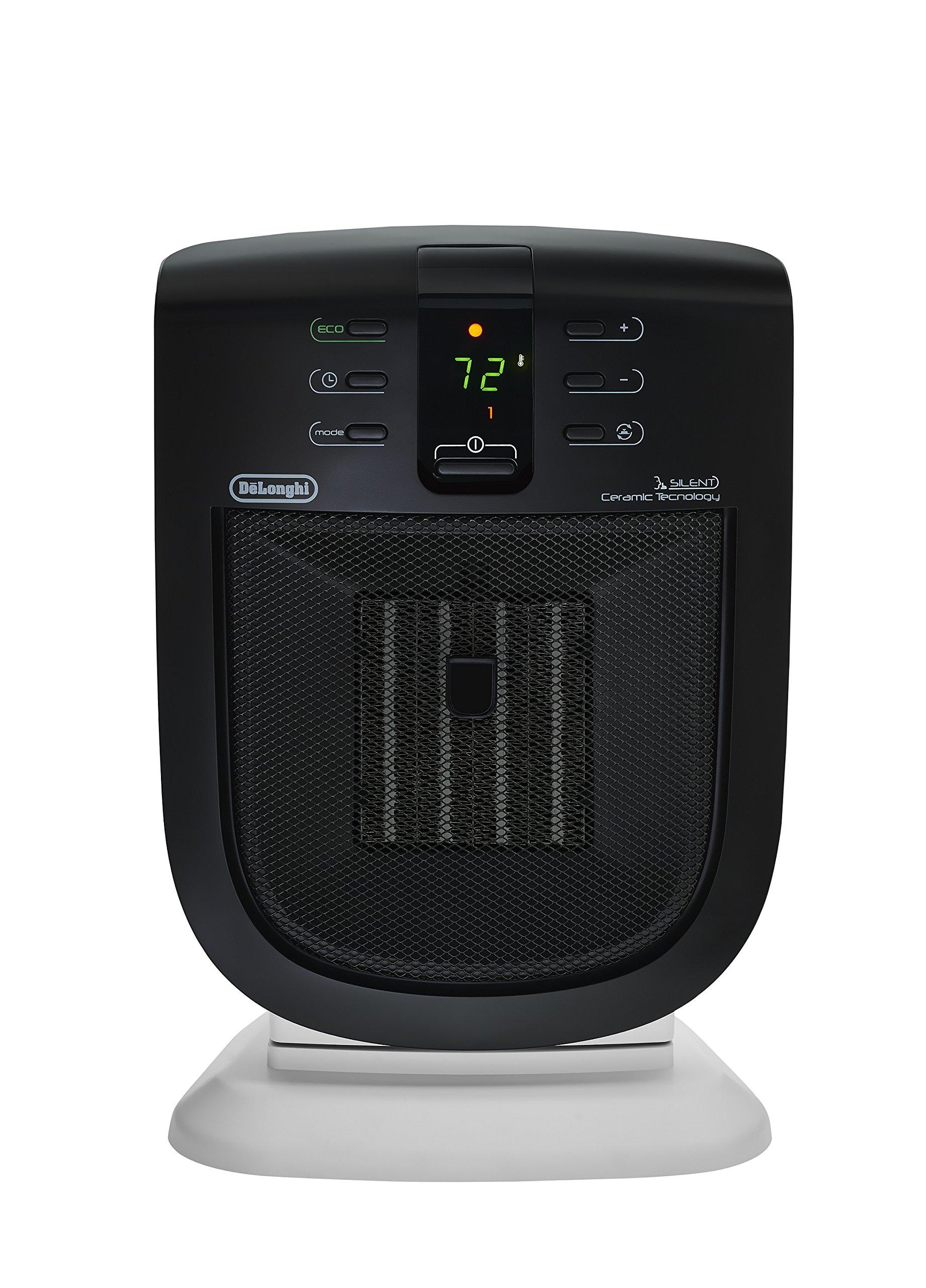 DeLonghi DCH5915ER Safe Heat Ceramic Heater with Silent System
