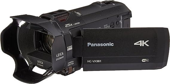 Panasonic 4K Ultra HD Video Camera Camcorder HC-VX981K