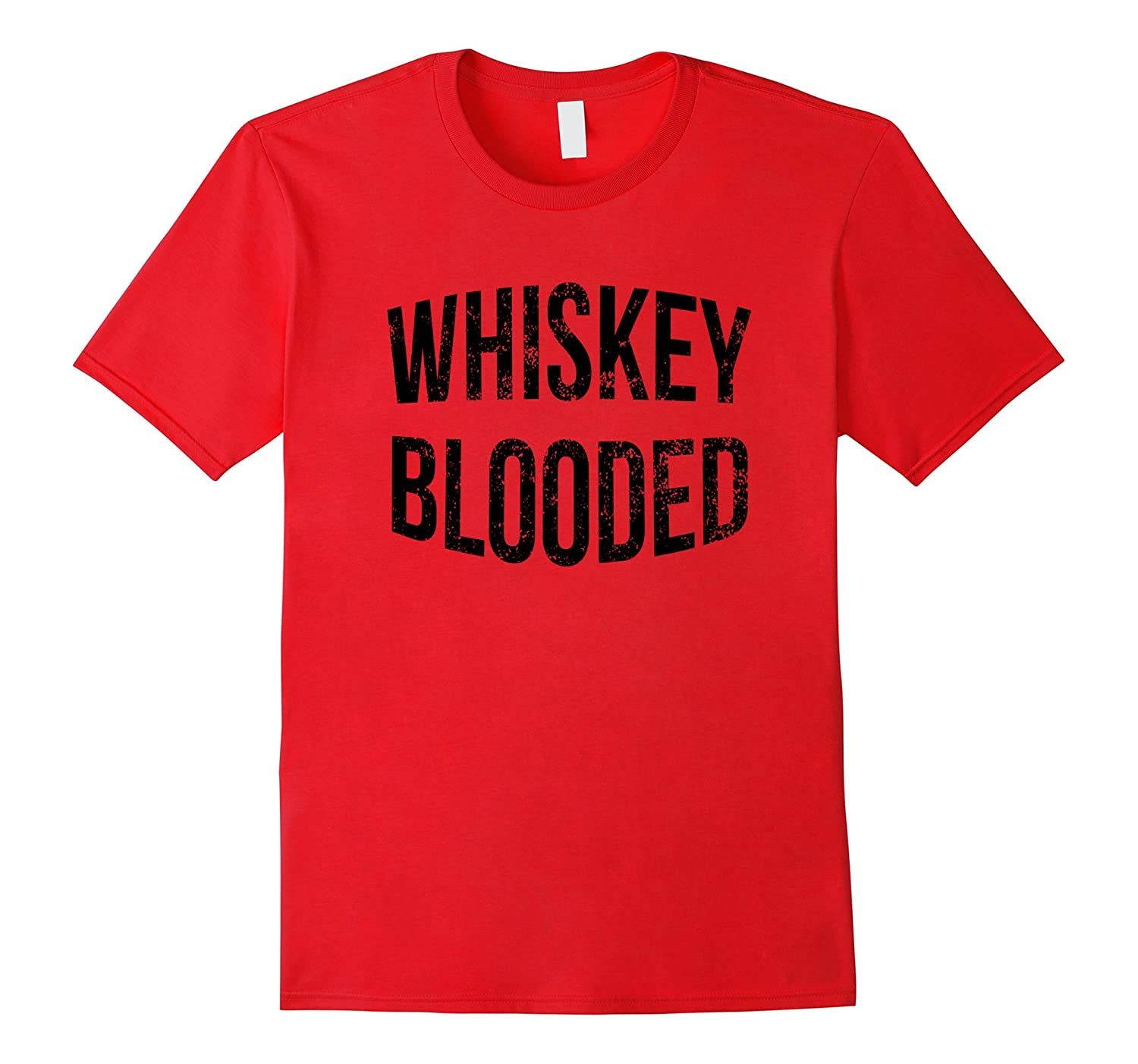 Whiskey Blooded Cool Alcohol Whiskey Shirt  The Gentle Sirs-TD