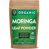 Organic Moringa Oleifera Leaf Powder | Perfect for Smoothies, Drinks, Tea & Recipes | 100% Raw From India | 16oz Resealable K
