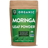 Organic Moringa Oleifera Leaf Powder | Perfect for Smoothies, Drinks, Tea & Recipes...