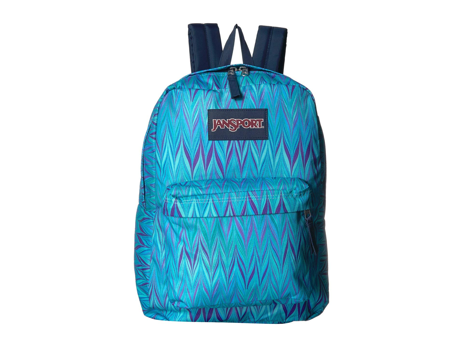 JanSport Unisex SuperBreak¿ Blue Marble Chevron One Size