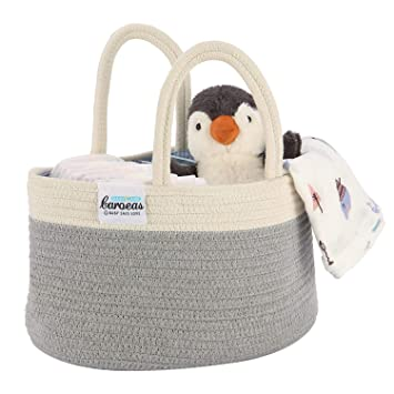Baby Diaper Caddy Organizer Handmade