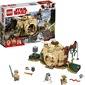 LEGO Star Wars: The Empire Strikes Back Yoda's Hut 75208 Buildin g Kit (229 Pieces)
