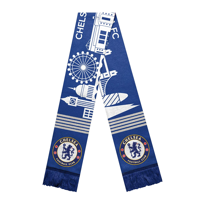 FOCO Premiership Football Officially Licensed Acrylic Skyline Scarves