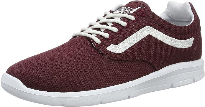Vans Mesh Iso 1.5 Sneakers Unisex Damen Herren Rot Port Royale