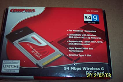 COMPUSA PCMCIA WIRELESS CARD WINDOWS 7 DRIVERS DOWNLOAD (2019)