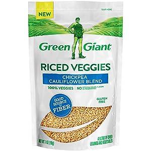 Green Giant Veggie Rice, Chickpea Cauliflower Blend, 7 Ounce