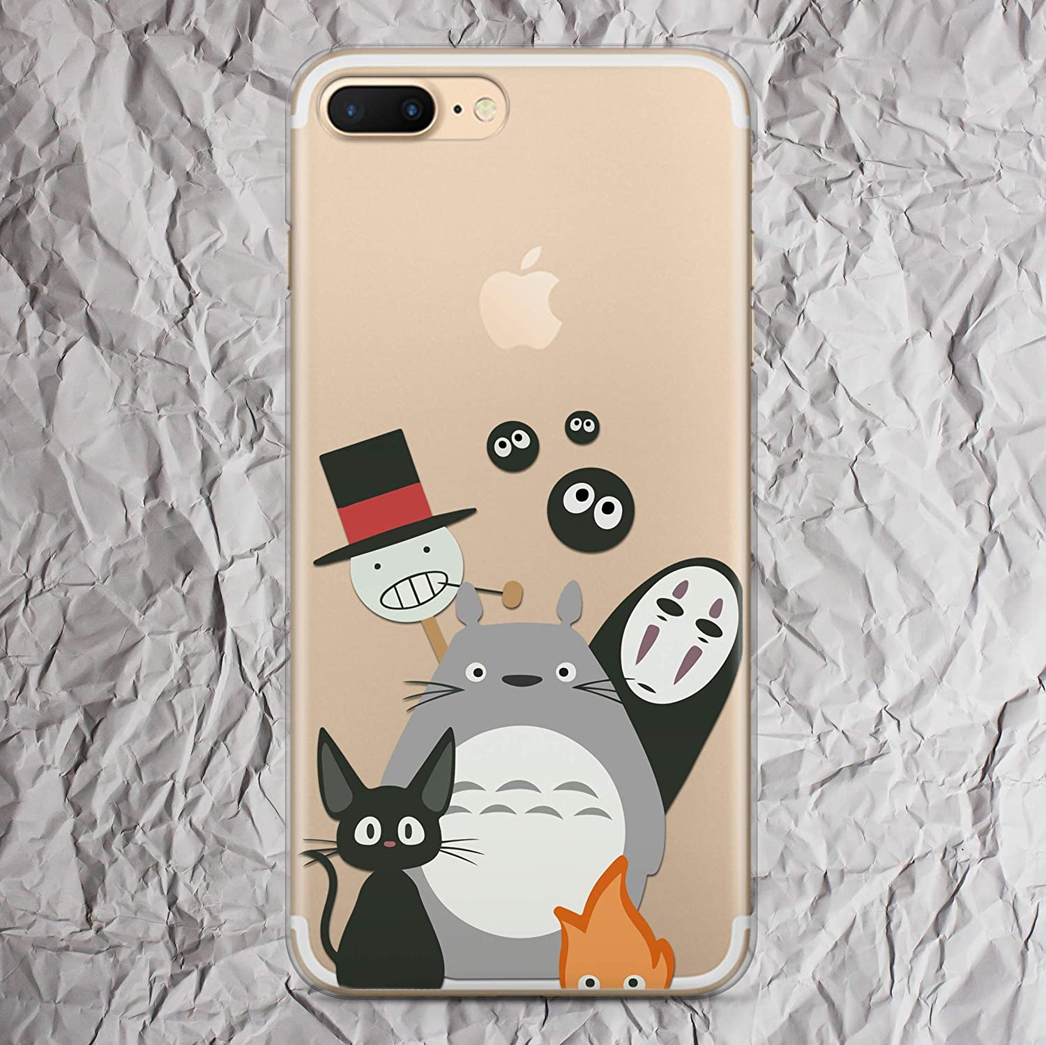 Amazoncom My Neighbor Totoro Iphone 7 8 6 6s Plus X 10s 10r Xs Max