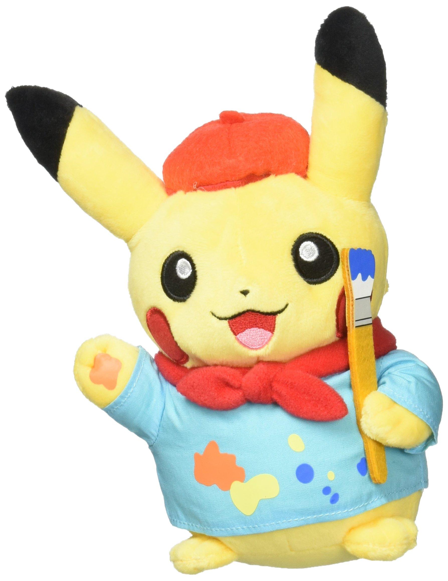 Pikachu Celebrations: Artist Pikachu Poké Plush (Standard Size) - 8'' by Pokemon
