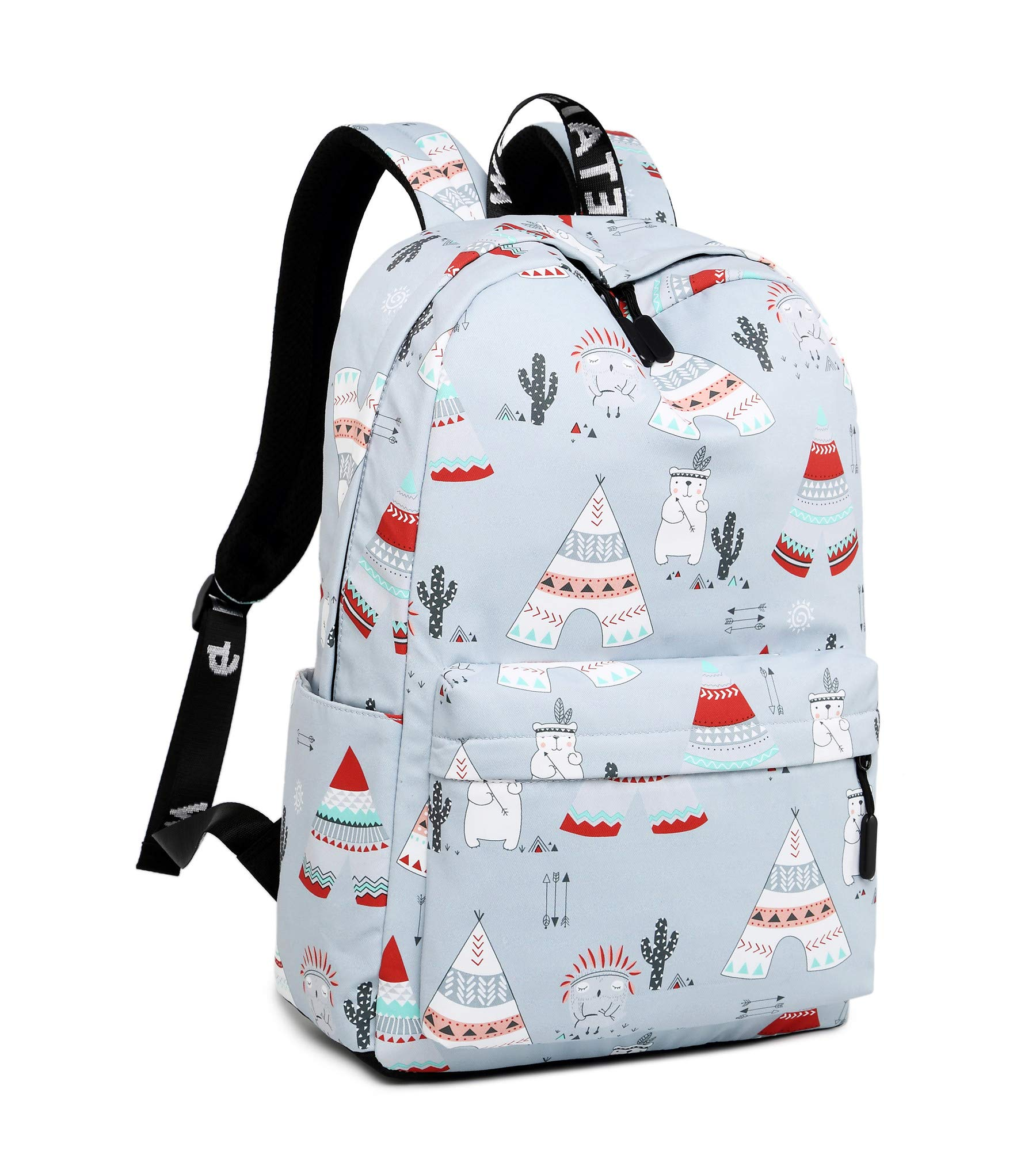 e560754894bc Galleon - Leaper Cute Laptop Backpack Shoulder Backpack School Bag Travel  Bag Gray