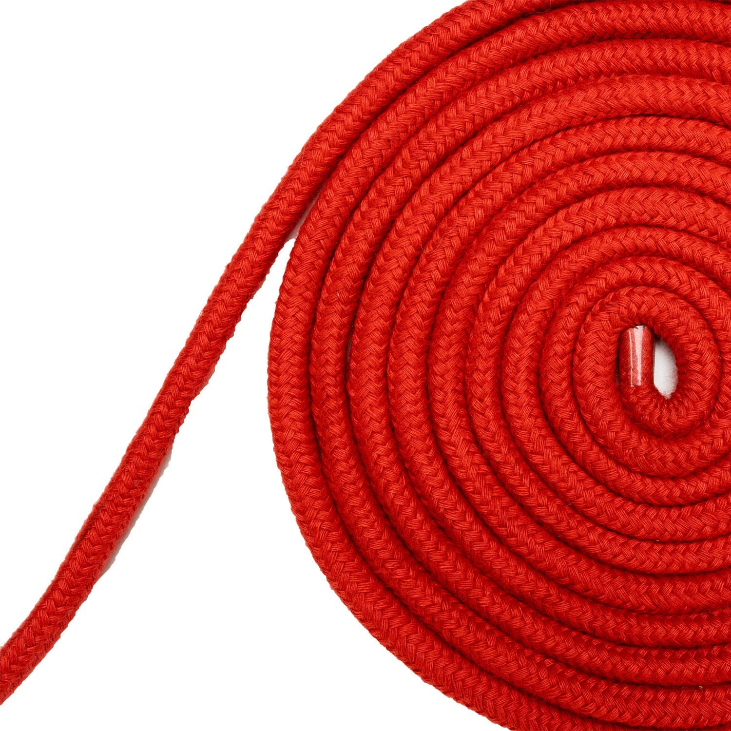 2 Pack of Red 1//3 inch Diameter Twisted Braided Multi-Function Natural Utility Durable Long Soft Cotton Rope 32 feet//10m 8mm