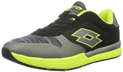 Lotto Dayride Amf, Zapatillas de Running Hombre: Amazon.es: Zapatos y complementos