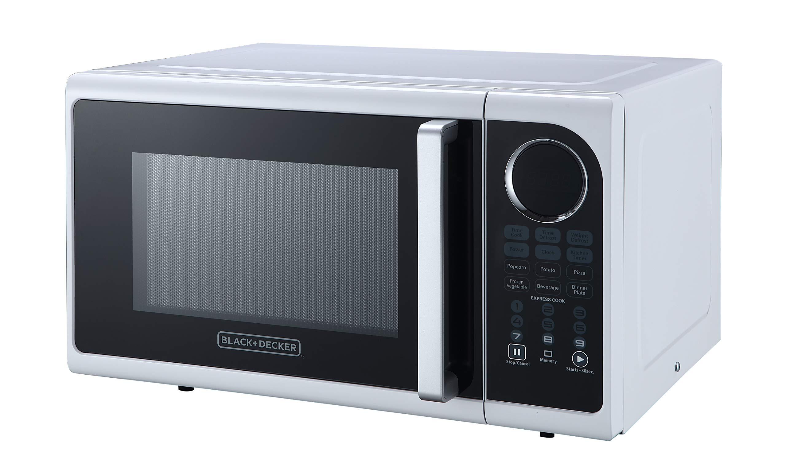 Black+Decker EM925ACP-P1 0.9 Cu. Ft. Digital Microwave, White by BLACK+DECKER (Image #3)
