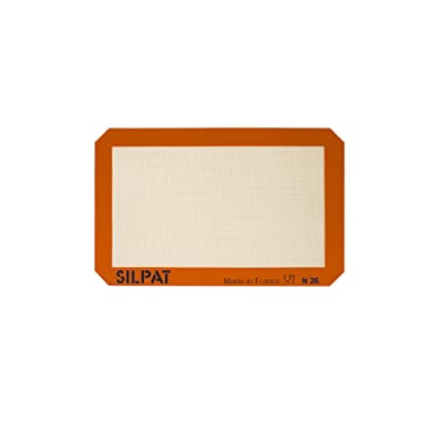 Silpat Non-Stick Silicone Baking Mat, Petite Jelly Roll Size, 8-1/4  x 11-3/4