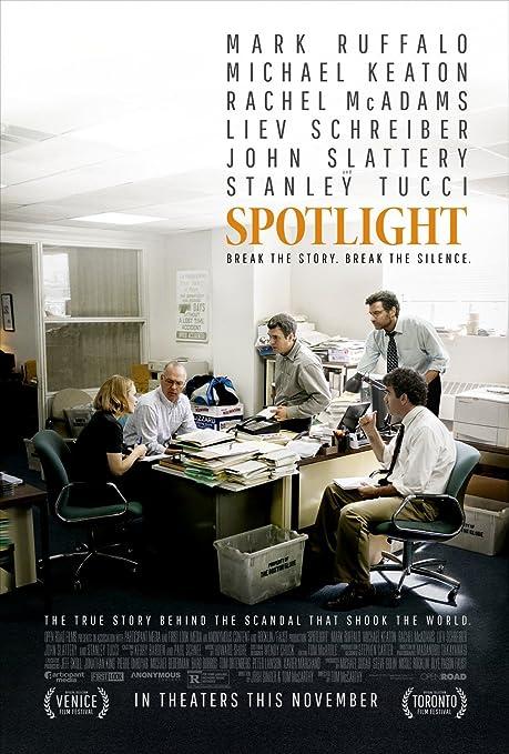 Amazon Com Spotlight 11x17 Inch Promo Movie Poster Posters Prints