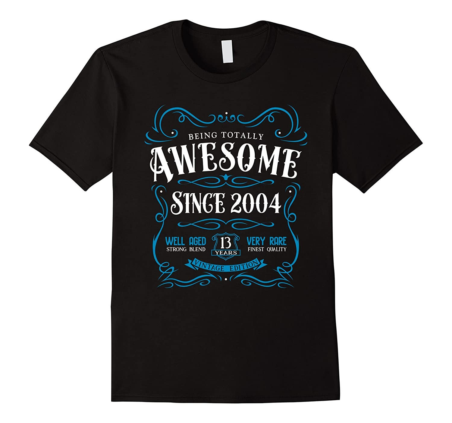 13th Birthday Gift T-Shirt Awesome Since 2004-PL