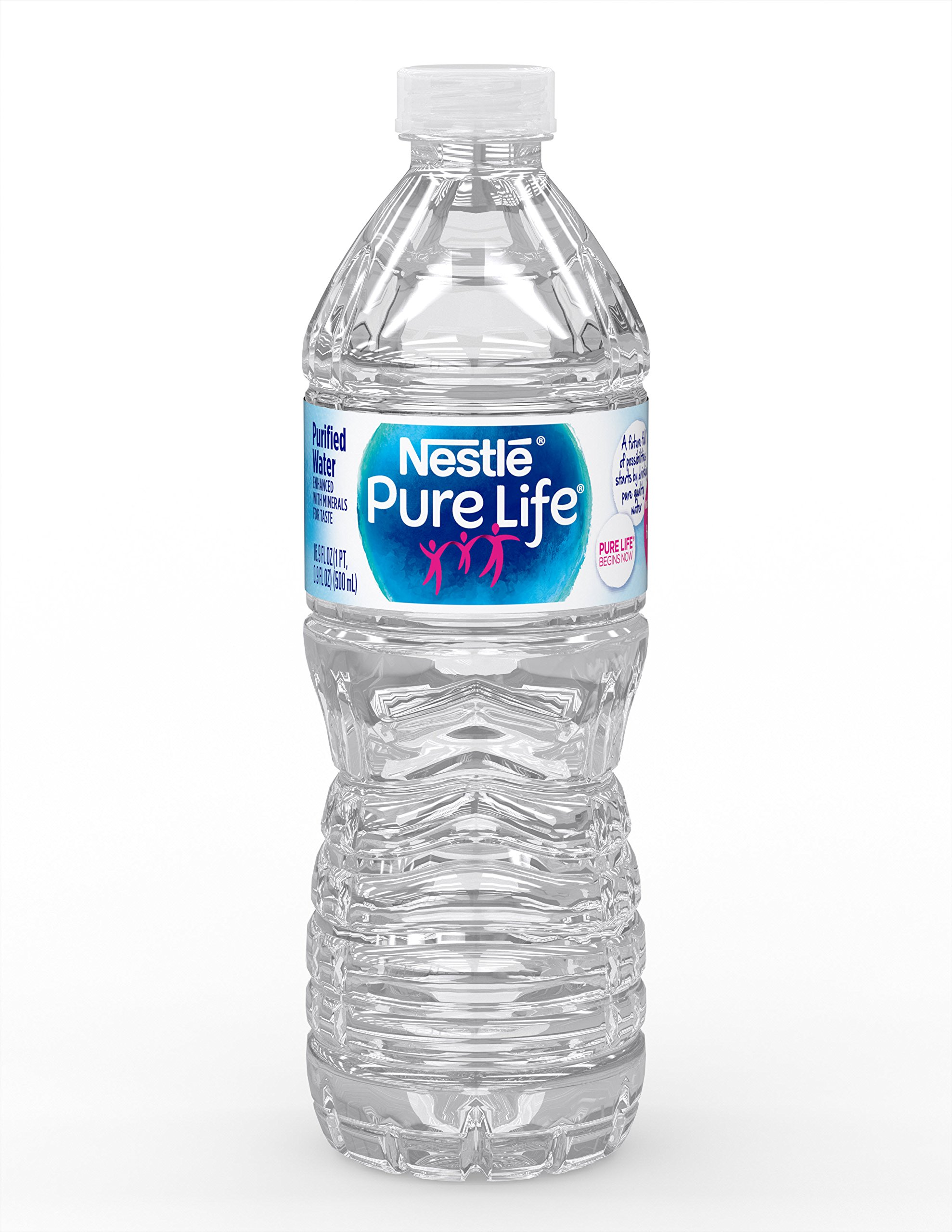 Nestle Pure Life Purified Water, 16 9 fl oz  Plastic Bottles (12 count)